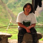 Germaine…for hosting us in Batad, cooking us food, and giving us advice on how to reach the waterfalls. 6/4/10
