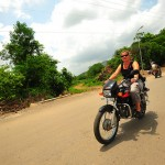 Random German lady living in India…for riding with me into the countryside of Udaipur. 7/20/10