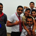 The Kingfisher staff at Amritsar Airport…for joking around with me while I checked into my flight for Jaipur. Good luck getting into UCLA! 7/16/10