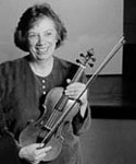 Linda Laderach….Annah's violin instructor who has been so helpful with tips on safe traveling for women and for pointers on things to check out in all of the places that I will be going. She has also been extremely helpful in constructing Annah's budget for such a trip.