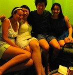 Lillian Ying and Andrea Lee…for meeting me for dinner in Singapore only hours before my flight back to NYC. 8/11/10