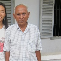 Khmer rouge survivor…for an incredible story. 08/05/11. – steph