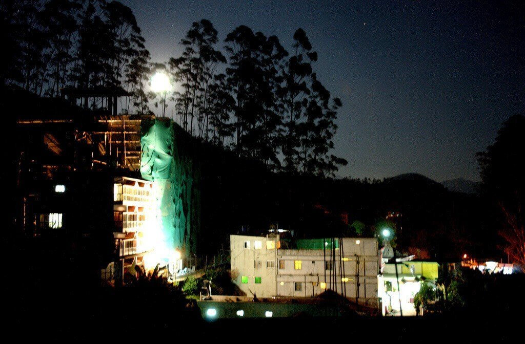 Before The Monsoon: Moonrise In Munnar