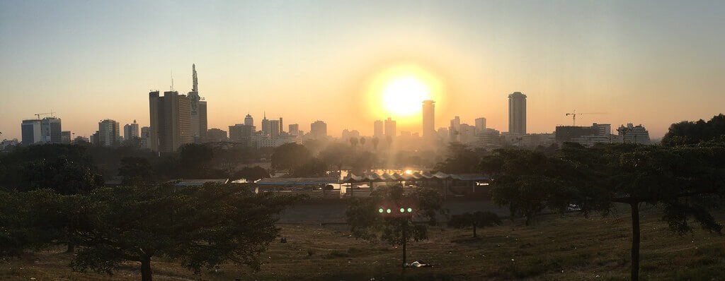 A Sunrise In Nairobi, Kenya