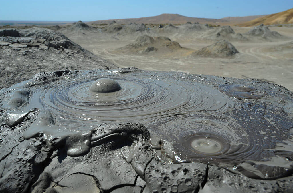 Gobs And Gobs Of Mud Volcanoes In Gobustan