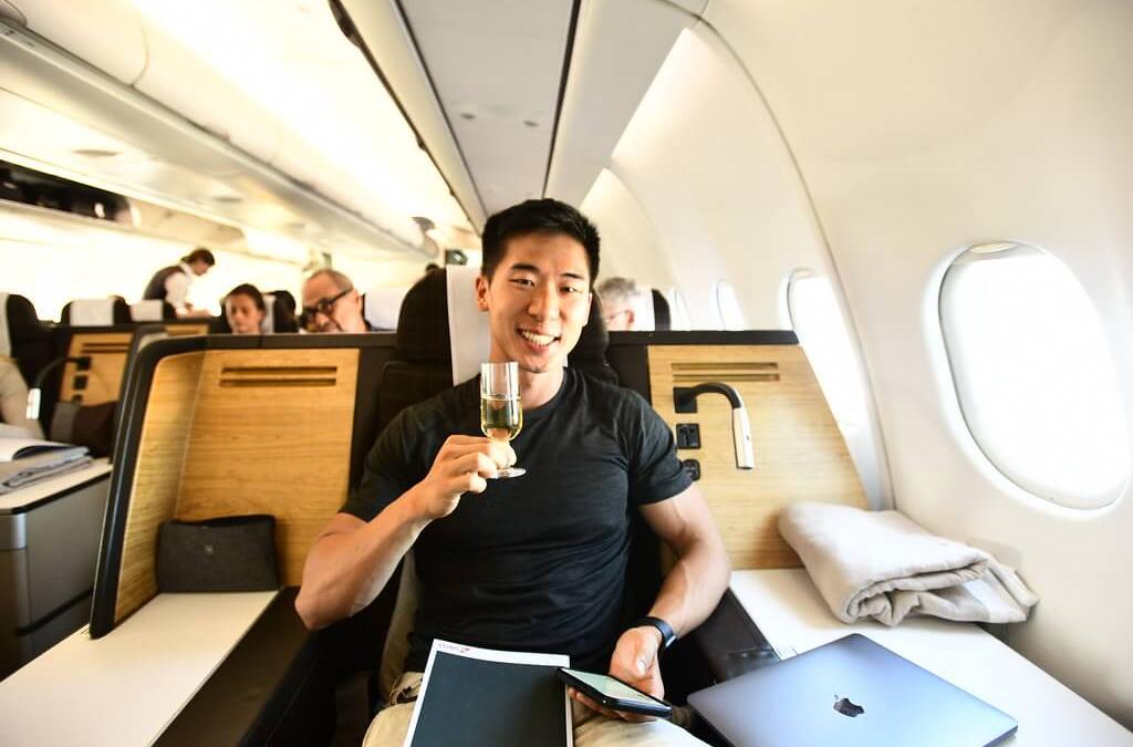 The Longest Domestic Flight In The World, Biz Class // … & Forcing An Emergency Landing: Réunion -> Paris -> Nice -> Zurich -> Halifax -> NYC