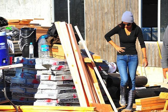 Morning Construction In Tijuana
