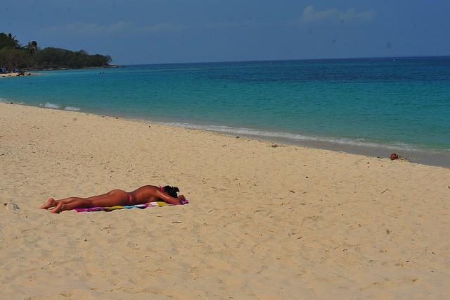 A Moment Of Paradise At Playa Blanca
