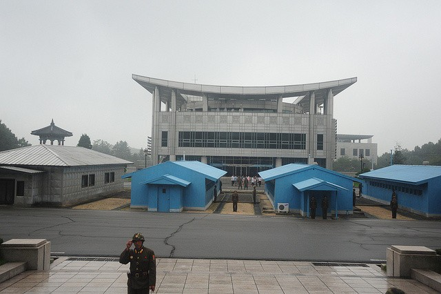"""The Scariest Place On Earth"": The North Korean DMZ."