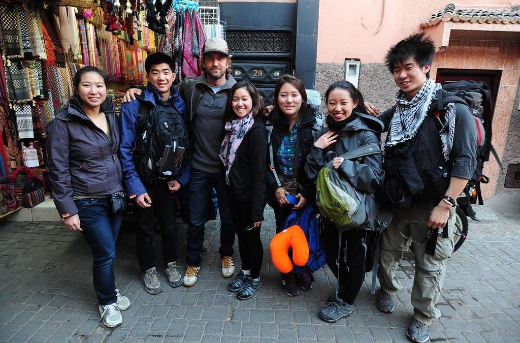 Gerard Butler Is In Marrakech