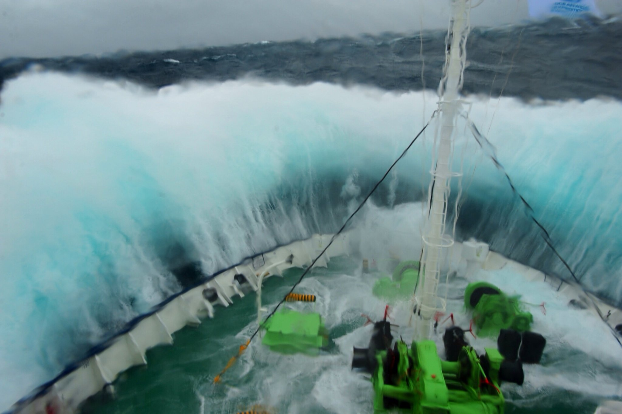Crossing The Drake Passage For Antarctica