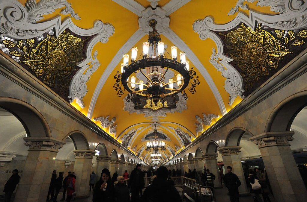 Moscow On The Metro & The World's 18th Best Restaurant
