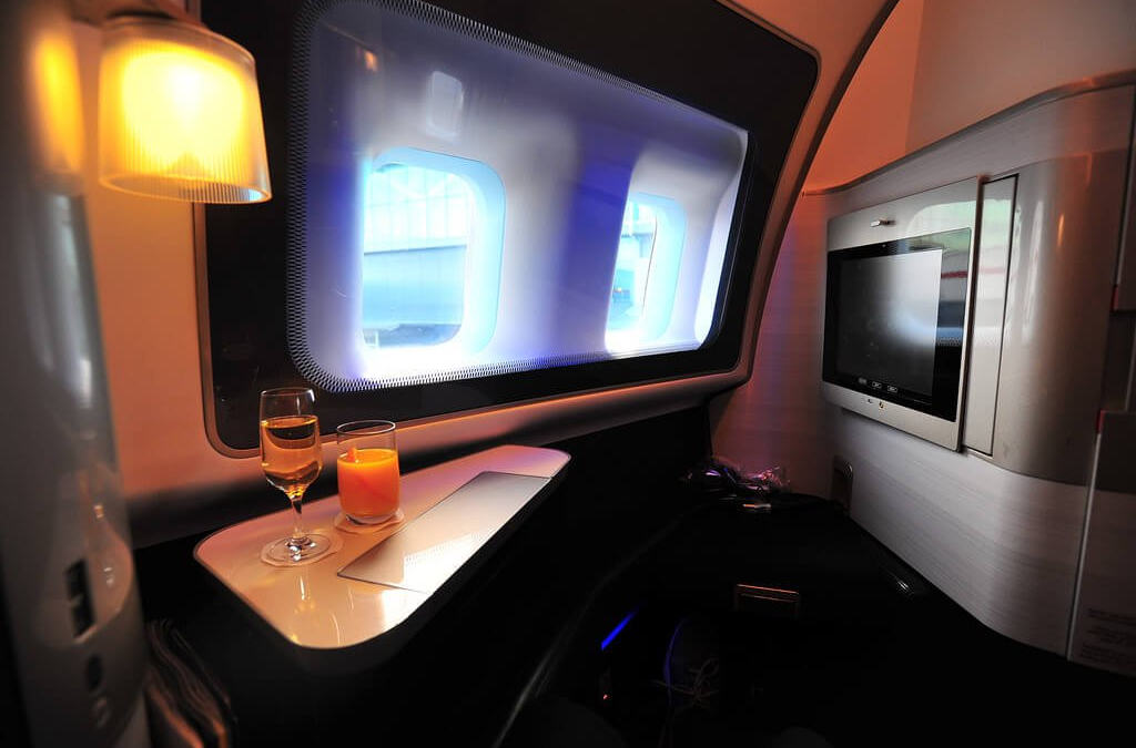 Flying British Airways First Class From London To NYC