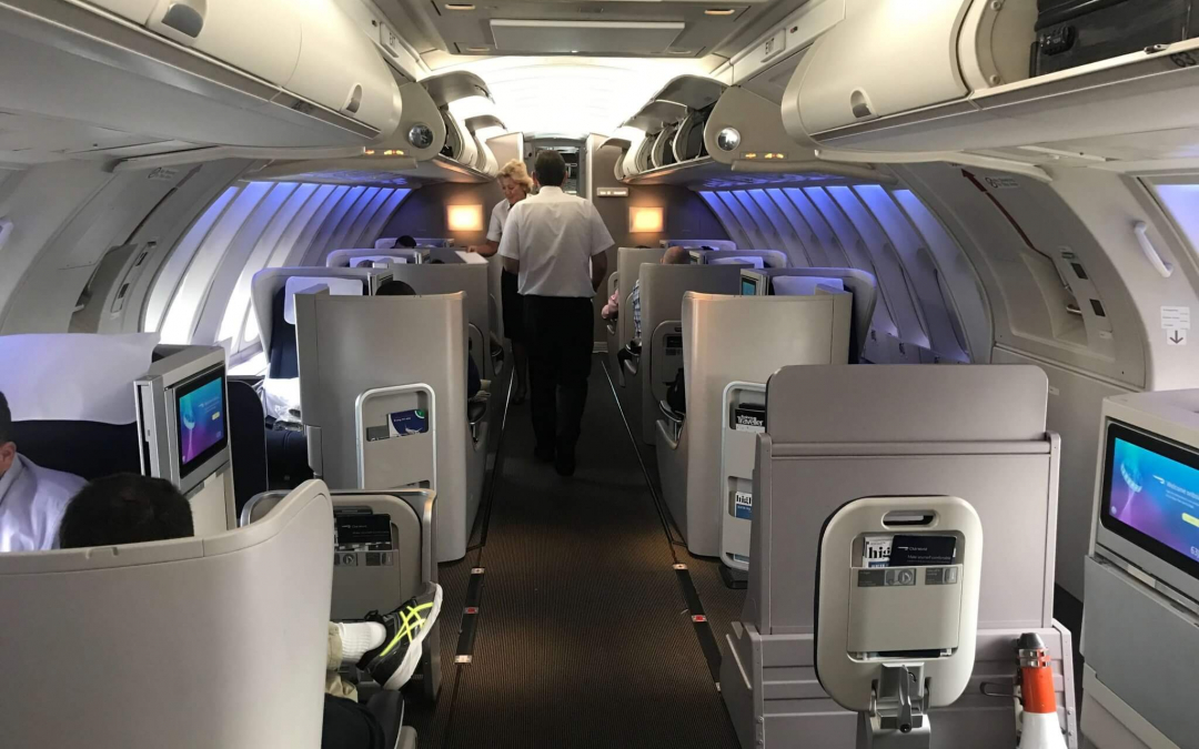 British Airways Club World/Business Class From NYC To London