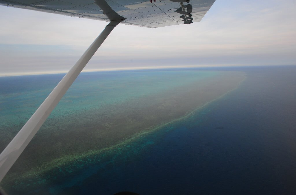 The Great Barrier Reef…From Above