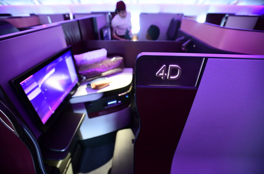 Flying The Qatar Airways QSuite Business Class (777-300ER From Dallas To Doha)