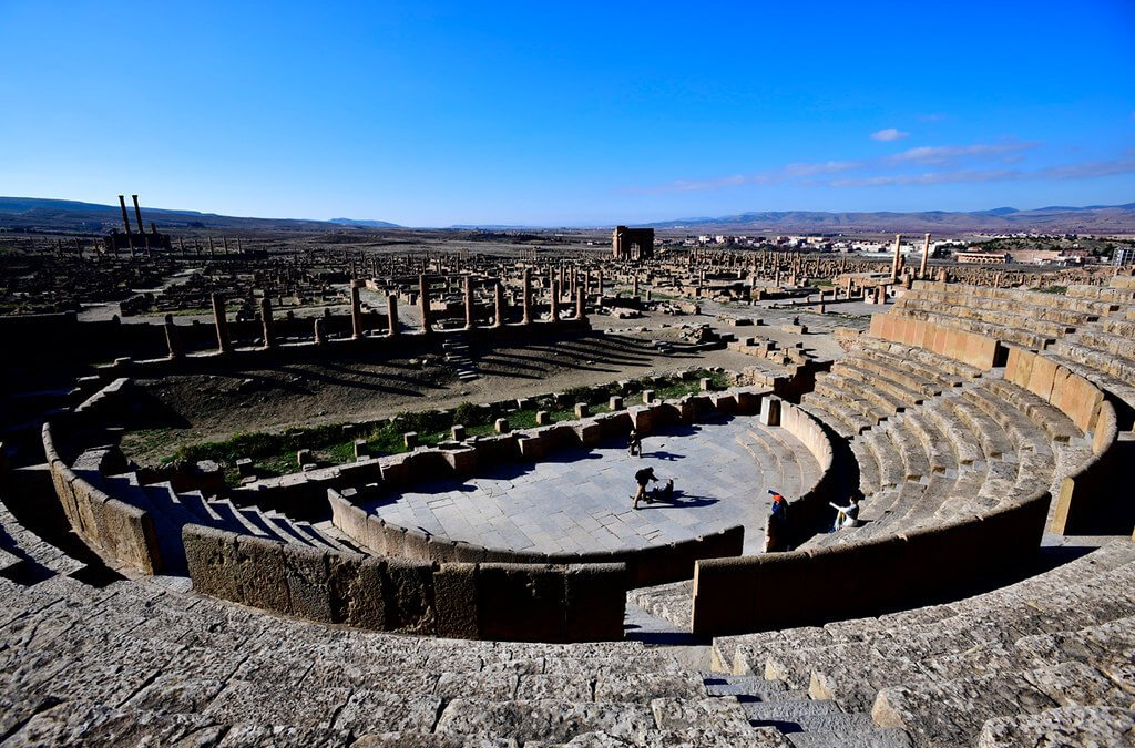 "Er Mah ""TimGad""! Deserted Roman Ruins All To Myself!"