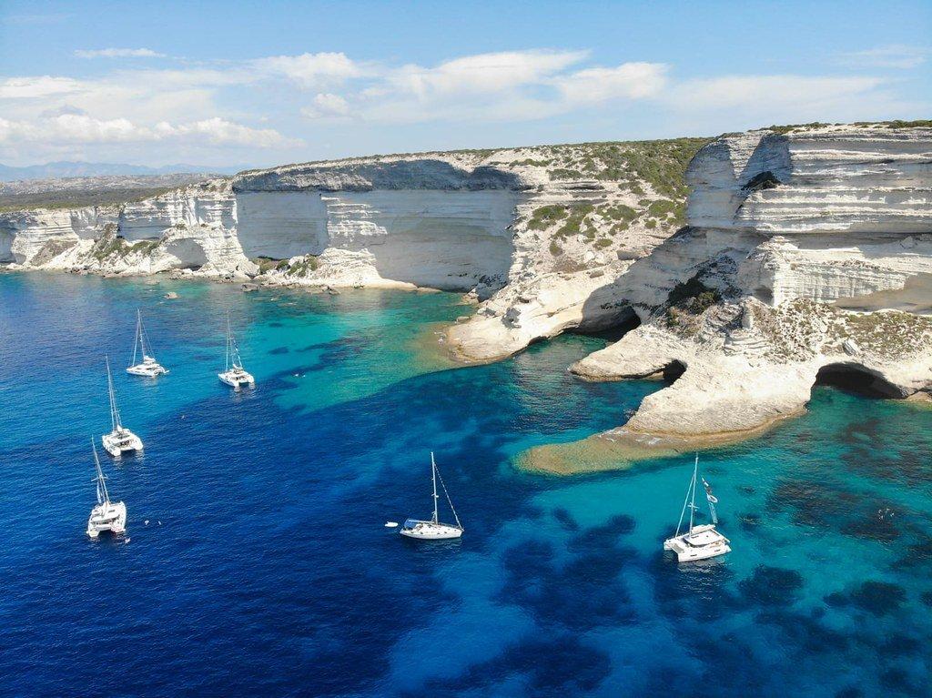 The Yacht Week Sardinia Day 3 – Natural Bay to Bonifacio: Corsica