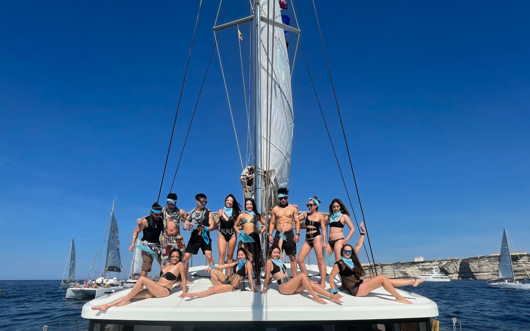 The Yacht Week Sardinia Day 4 – Regatta Day From Corsica to Isola Spargi