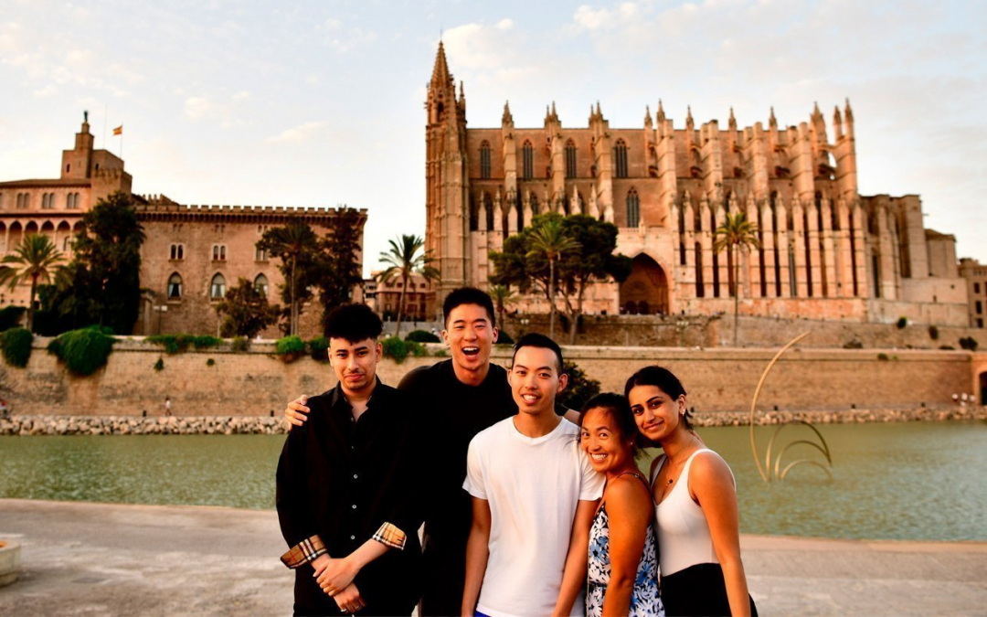 New Yorkas in Mallorca, while in the Palma of my Hand