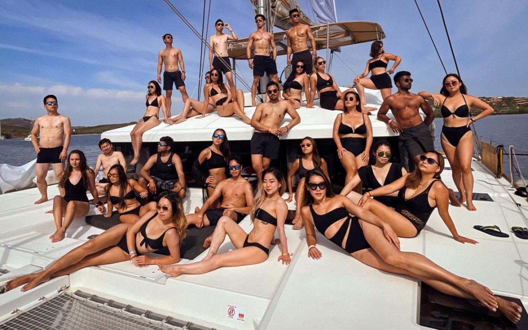 The Yacht Week Sardinia Day 5 – Isola Spargi to Poltu Qualtu